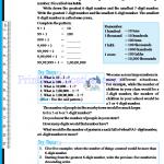 Grade six 6 number worksheets h