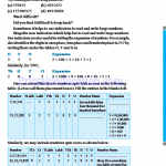 Grade six 6 number worksheets i