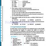 Grade six 6 number worksheets l