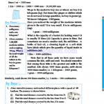 Grade six 6 number worksheets m