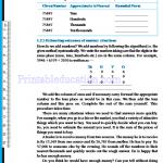 Grade six 6 number worksheets s