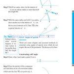 Grade six 6 practical geometry worksheets p