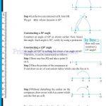 Grade six 6 practical geometry worksheets q