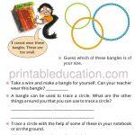 Maths Circle worksheet book for grade four 4 b