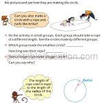 Maths Circle worksheet book for grade four 4 e