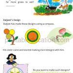 Maths Circle worksheet book for grade four 4 g
