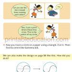 Maths Circle worksheet book for grade four 4 k