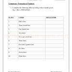 class 3 third worksheet for capecity
