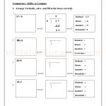 class 3 third worksheet for division34