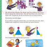 class five 5 symmetry worksheets b