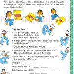 class five 5 symmetry worksheets i