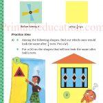 class five 5 symmetry worksheets l