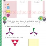 class five 5 symmetry worksheets n