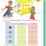 class five 5 symmetry worksheets o