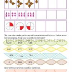class four 4 pattern worksheet c