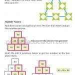 class four 4 pattern worksheet f