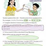 class four 4 pattern worksheet i