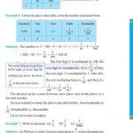grade six 6 decimals worksheets h