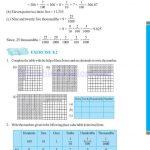 grade six 6 decimals worksheets j