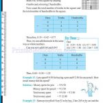 grade six 6 decimals worksheets o