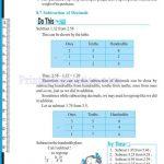 grade six 6 decimals worksheets q