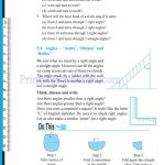 grade six 6 elementary shapes worksheets g