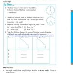 grade six 6 elementary shapes worksheets h