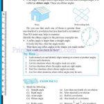 grade six 6 elementary shapes worksheets i
