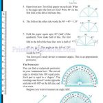 grade six 6 elementary shapes worksheets k