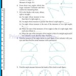 grade six 6 elementary shapes worksheets m