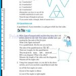 grade six 6 elementary shapes worksheets s