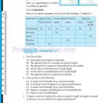 grade six 6 elementary shapes worksheets u