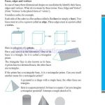 grade six 6 elementary shapes worksheets x