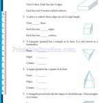 grade six 6 elementary shapes worksheets y