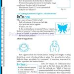 grade six 6 symmetry worksheets b