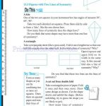 grade six 6 symmetry worksheets d