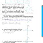 grade six 6 symmetry worksheets e