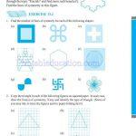 grade six 6 symmetry worksheets g