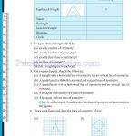 grade six 6 symmetry worksheets h