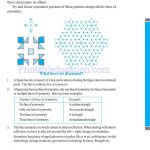 grade six 6 symmetry worksheets m