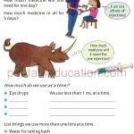 math capacity story worksheet for grade four i